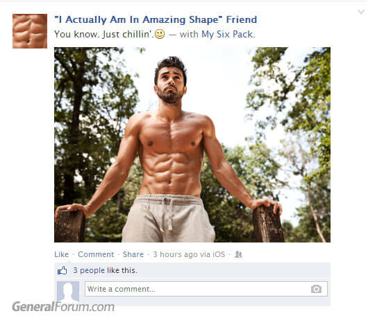 facebook-i-actually-am-in-amazing-shape-friend