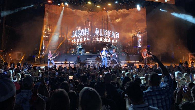Jason Aldean Kills It On His 'Ride All Night Tour' With Kane