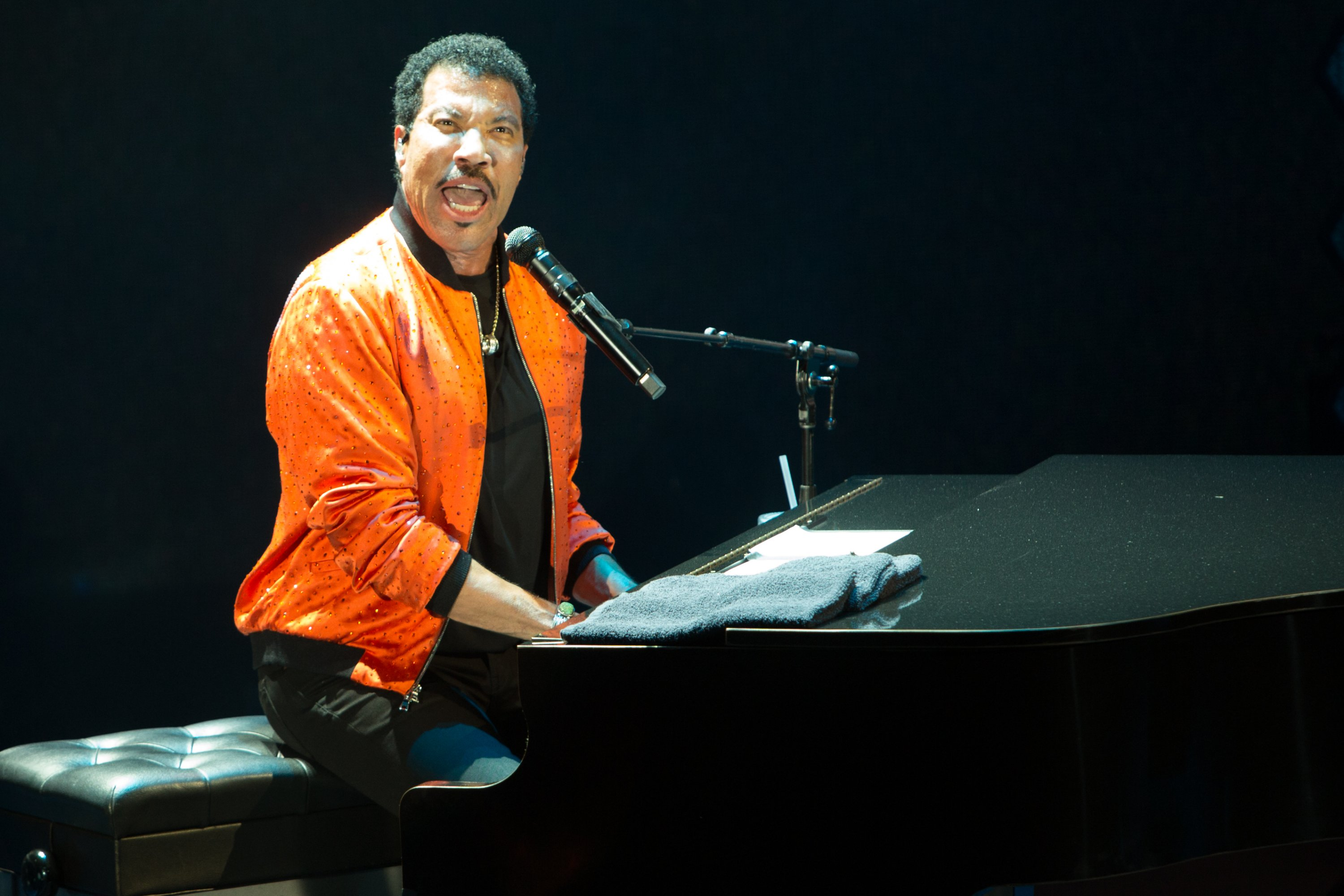 Lionel Ritchie 'Hello' tour. (Photo credit Chris Nicholson.)