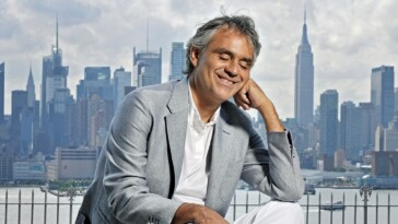 Andrea Bocelli Concludes US Tour With Magical Evening to Remember