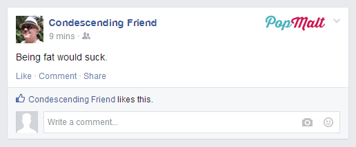 Annoying Facebook Friends: Condescending Friend