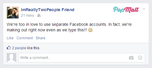 Annoying Facebook Friends: ImReallyTwoPeople Friend