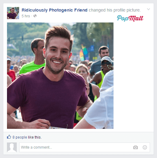 Annoying Facebook Friends: Ridiculously Photogenic Friend
