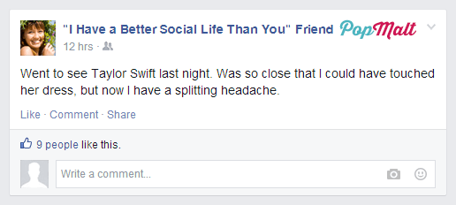 Annoying Facebook Friends: I Have a Better Social Life Than You Friend