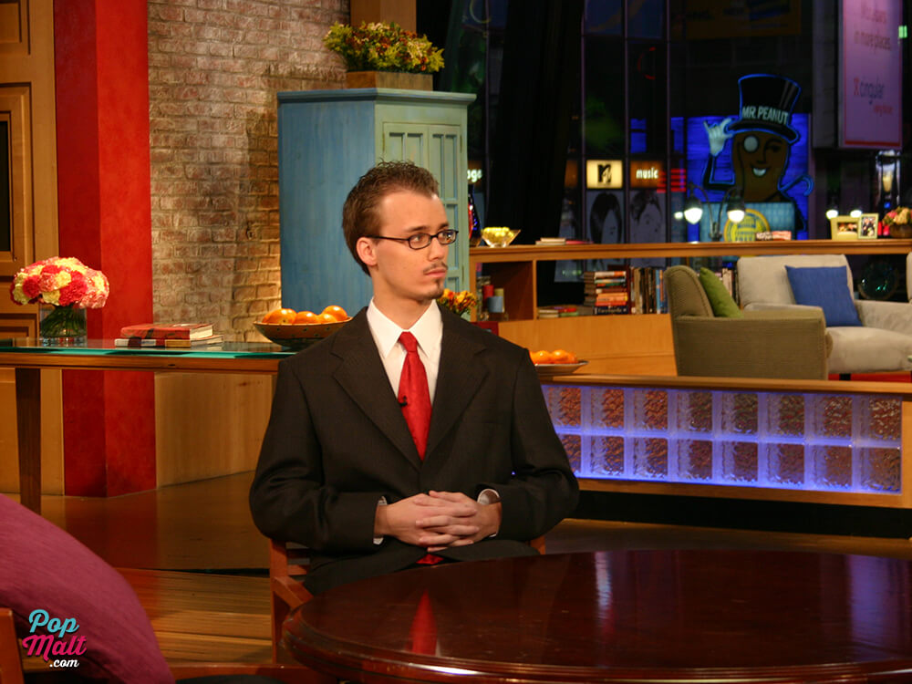 Andrew Fischer waiting to appear on Good Morning America
