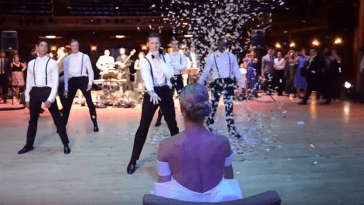 Professional Dancer Surprises His Bride With Epic Wedding Reception Dance Routine