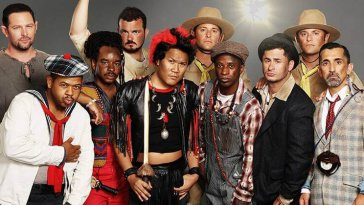 Rufio and the Lost Boys From 'Hook' All Grew Up and Did a 25th-Anniversary Reunion Photo Shoot