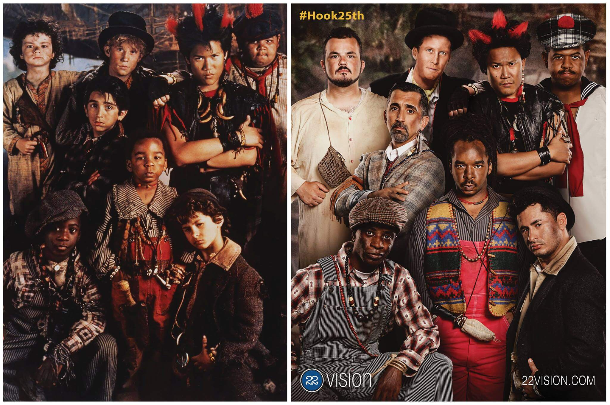 The Lost Boys then and now.