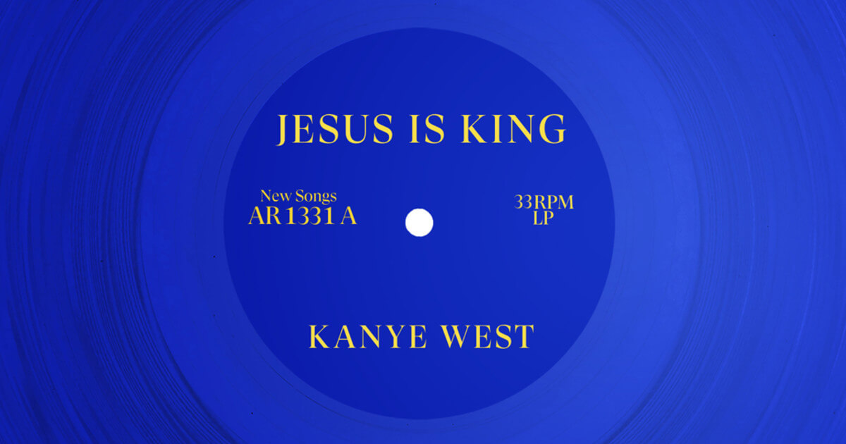 Jesus is King Album Cover
