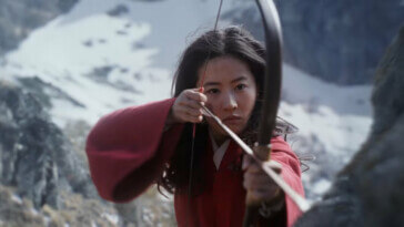 Still from Mulan teaser trailer