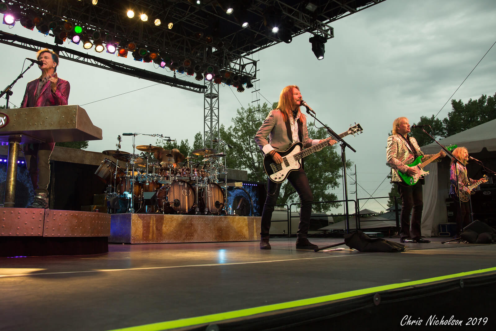 Styx owned the night with music for everyone. (Photo by Chris Nicholson)