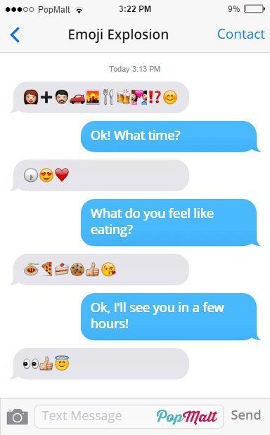 Annoying Funny Texting Friends - Emoji Explosion