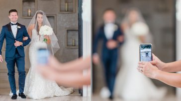 Wedding Photographer's Open Letter Goes Viral After iPhone Photo Ruins Otherwise Perfect Moment